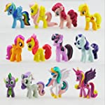 Set Of 12pcs My Toy Collection Little...