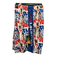 KABOOM Fireworks USA AMERICA 4th of July Lacrosse LAX mesh shorts Adult (extra large)