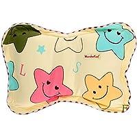 WonderKart Star Print Feeding & Nursing Baby Neck Pillow - Yellow