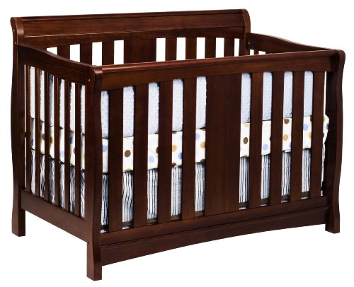 DaVinci Rowan 4-in-1 Convertible Crib with Toddler Rail, Cherry