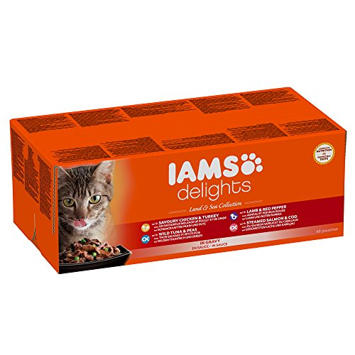 iams-delights-land-sea-collection-in-sauce-48-x-85-g