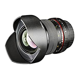 Objectif grand angle walimex pro 14/2,8 IF pour Olympus 4/3