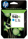 HP C4907AE - Cartucho original Nº940XL, cian