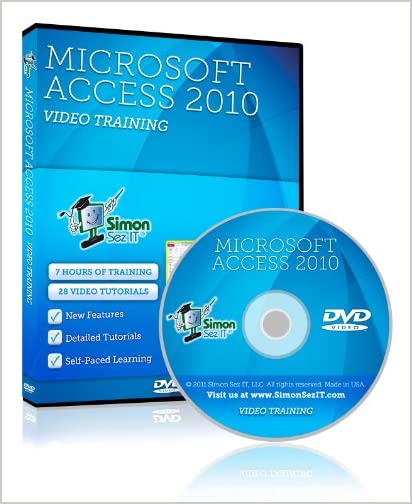 Learn Microsoft Access 2010 Training Video Tutorials by Simon Sez IT, LLC