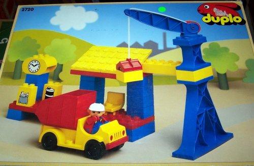LEGO 2720 lego DUPLO Baustelle und Postauto