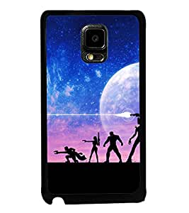 printtech Guardians Space Disney Back Case Cover for Samsung Galaxy Tab 4 7.0 T231