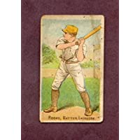 1887 N284 Buchner Gold Coin George Rooks Lacrosse VG-EX 209530 Kit Young Cards
