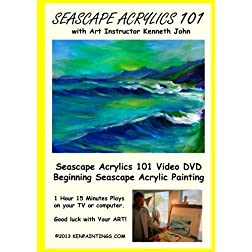 Seascape Acrylics Painting 101