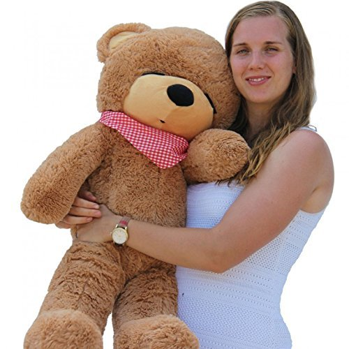 Joyfay-39-100cm-Huge-Brown-Sleepy-Bear-Stuffed-Toy