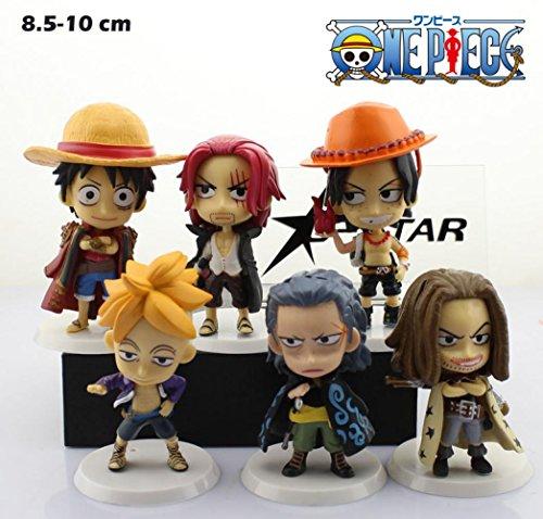 Angle Idea 6Pcs One Piece Character The 71Th Pvc Action Figure Collection Model Dolls Toys (6Pcs Per Set)