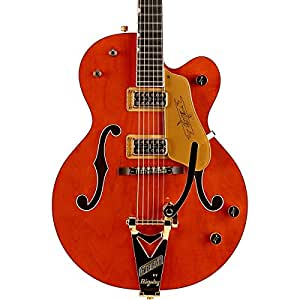 Gretsch G6120 Chet Atkins Hollow Body Electric Guitar - Orange