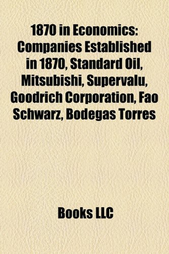 1870-in-economics-companies-established-in-1870-standard-oil-mitsubishi-supervalu-goodrich-corporati