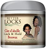 Better Locks Lock & Hold Beeswax 5.5 Oz. by Better Locks