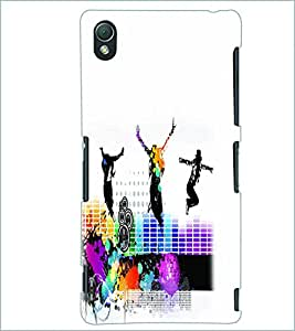 PRINTSWAG DANCING GROUP Designer Back Cover Case for SONY XPERIA Z3