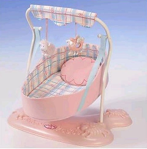 Baby Annabell Doll Swing - Zapf Creation front-276146