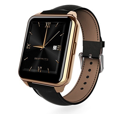 Bluetooth Smartwatch WristWatch F2 Watch for Samsung HTC Huawei LG Xiaomi Smartphones Support Sync Call Message(Android Phone)