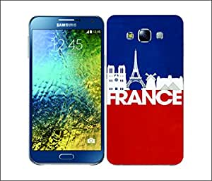 Galaxy Printed 2835 Skyline Series 2 FranceskyHard Cover for Samsung Core Prime