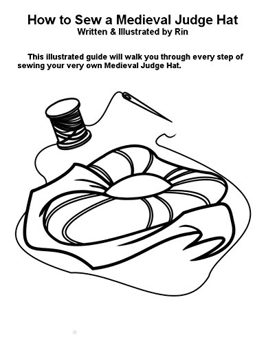 how-to-sew-a-medieval-judge-hat-english-edition