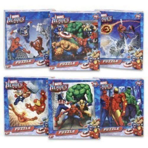 Marvel Heroes Puzzle (puzzles may vary) - 1