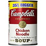 Campbell's Chicken Noodle Soup, 14.75 Ounce Cans (Pack of 12) ~ Campbell's