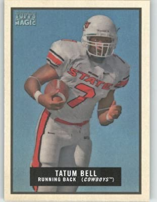 Tatum Bell - Oklahoma State - Denver Broncos - 2009 Topps Magic NFL Trading Card