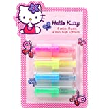 Partner Jouet - A1001239 - Fourniture Scolaire - Mini Fluos - Hello Kitty Butterfly