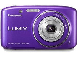 Panasonic Lumix S2 14.1 MP Digital Camera with 4x Optical Zoom (Violet)