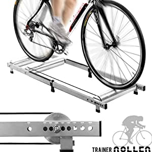 Amazon.com : Alloy Indoor Bicycle Bike Rollers Roller TRAINER : Sports