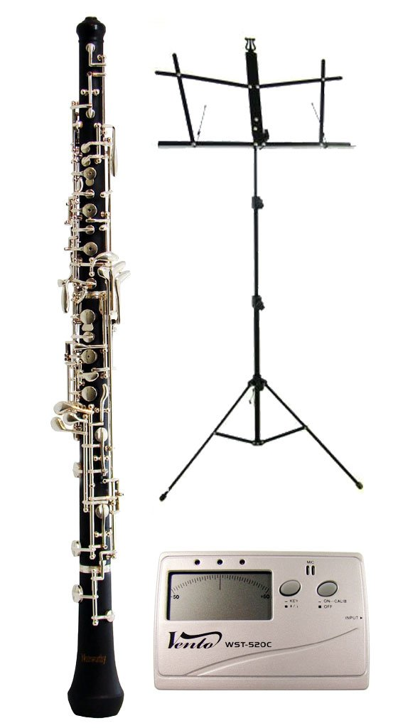 Noteworthy Student Oboe with Free Music Stand and Tuner, Case and Case Cover $749.00