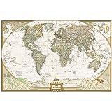 World Executive Wall Map (Laminated)