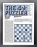 The Four-Star Puzzler - May, 1982: Issue 17. Puzzles from Games Magazine: Anacrostic (Acrostic), Crosswords, Cryptic, Cryptograms, Logic, more.