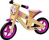 Woodyland 85 x 41 x 53 cm de moda de Madera de Balance Bike