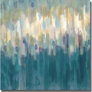 Drops of Indigo by Karen Lorena Parker Premium Stretched Canvas (Ready