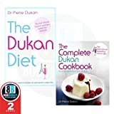 Dr Pierre Dukan Dr Pierre Dukan Diet & Cookbook Collection 2 Books Set, (The Dukan Diet & [Hardcover] The Complete Dukan Cookbook)
