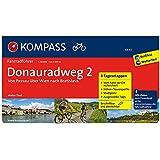 Donauradweg 2, Von Passau über Wien nach Bratislava: Fahrradführer mit Top-Routenkarten im optimalen Maßstab. (KOMPASS-Fahrradführer)
