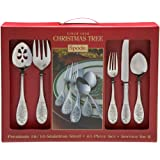 Spode Christmas Tree 45-Piece Flatware Set