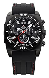 Swiss Military By Chrono Analogue Black Dial Mens Watch SM34032.01