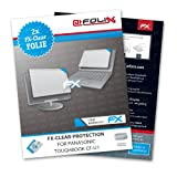 AtFoliX FX-Clear screen-protector for Panasonic Toughbook CF-U1 (2 pack) - Crystal-clear screen protection!