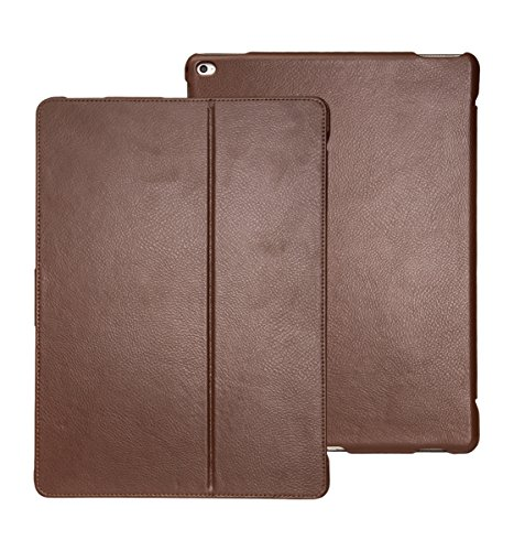 futlex-genuine-leather-tab-closure-case-for-ipad-pro-129-coffee-unique-design-multiple-stand-positio