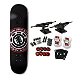 Element Skateboards Complete Skateboard Team Seal Black 8.0