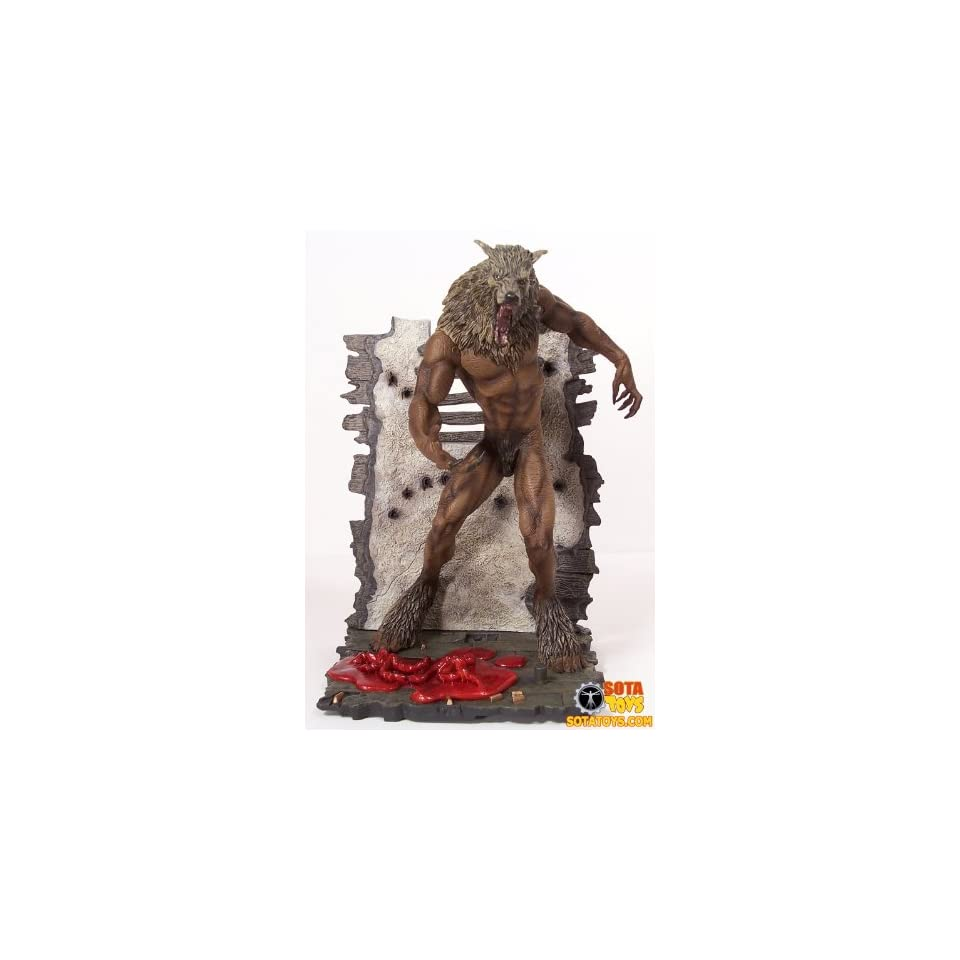 Sota Toys Now Playing Series 3 Action Figure WereWolf Dog Soldiers
