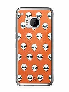 YuBingo Aliens Designer Mobile Case Back Cover for HTC One M9