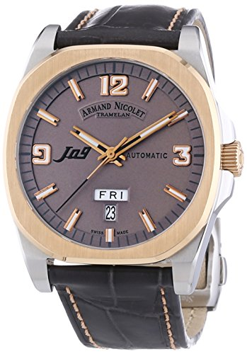 Armand Nicolet Men's 8650A-GS-P965GS2 J09 Classic Automatic Two-Toned Watch
