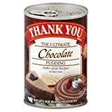 Thank You Pudding Chocolate Pudding, 15.75-Ounce (Pack of 6)