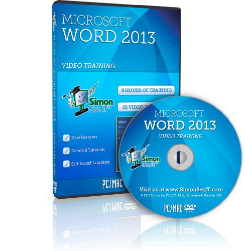 Learn Microsoft Word 2013 Training Video Tutorials