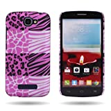 Alcatel One Touch Fierce 2 / Pop Icon Case, CoverON (Exotic Skins) Hard Slim Design 1pc Plastic Phone Cover for Alcatel One Touch Fierce 2 7040T / Pop Icon A564c
