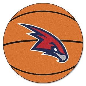 FANMATS NBA Atlanta Hawks Nylon Face Basketball Rug by Fanmats