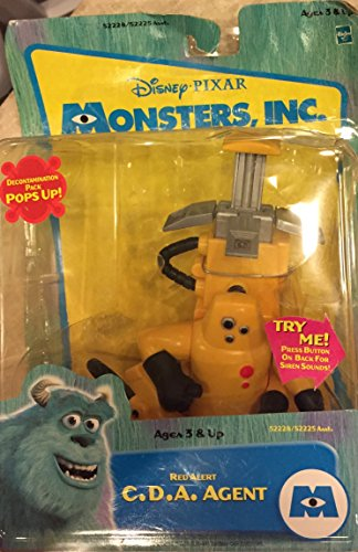 Disney Monsters Inc. Red Alert C.D.A. Agent (Cda Monsters Inc compare prices)