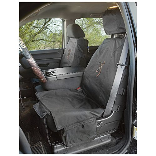 Browning Black Tactical Low-Back Bucket Seat Cover (Camo Buckmark, Rugged 600-denier Polyester Fabric, Sold Individually) (Gear Tactical Seat Covers compare prices)