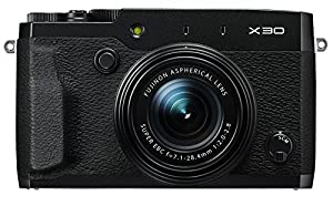 Fujifilm X30 12 MP Digital Camera with 3.0-Inch LCD (Black)